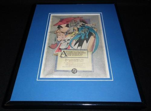 Detective Comics #572 Batman 1986 11x14 Framed ORIGINAL Vintage Advertisement
