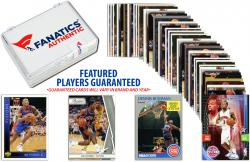 Detroit Pistons Team Trading Card Block/50 Card Lot - Mounted Memories