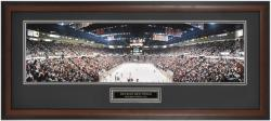 Philadelphia Flyers at Detroit Red Wings Framed Panoramic Photo