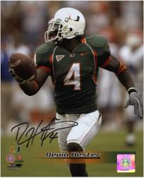 "Devin Hester Miami Hurricanes Autographed 8"" x 10"" Photograph"