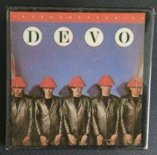Devo Freedom Of Choice Music Album Cover Vintage Pin Button Rare Authentic A