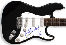 Devo Mark Mothersbaugh Autographed Signed Guitar PSA/DNA   AFTAL