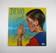 Devo Shout Autographed Signed Album Certified Authentic PSA/DNA AFTAL COA