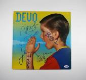 Devo Shout Autographed Signed Album Certified Authentic PSA/DNA AFTAL COA