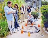 DEXTER Cast Signed 11x14 Photo * PSA COA * Michael C Hall Jennifer Carpenter Lee