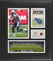 Dexter McCluster Tennesee Titans Framed 15'' x 17'' Collage with Game-Used Football