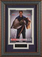 DEXTER Michael C Hall Autographed 11x17 Framed Poster