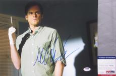 DEXTER MORGAN!!! Michael C Hall Signed Kill Suit DEXTER 11x14 Photo #1 PSA/DNA