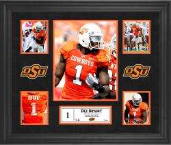 Dez Bryant Oklahoma State Cowboys Framed 5-Photo Collage