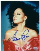 "Diana Ross Autographed 8"" x 10"" Posed Photograph - BAS COA"
