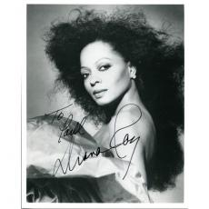 Diana Ross Autographed 8x10 Photo
