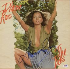 Diana Ross Autographed The Boss Album Cover - PSA/DNA COA
