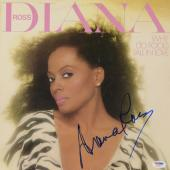 Diana Ross Autographed Why Do Fools Fall In Love Album Cover - PSA/DNA COA