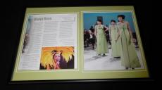 Diana Ross Framed 12x18 Photo Display The Supremes