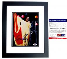 Diana Ross Signed - Autographed The Supremes Singer 8x10 inch Photo with PSA/DNA Certificate of Authenticity (COA) BLACK CUSTOM FRAME