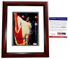 Diana Ross Signed - Autographed The Supremes Singer 8x10 inch Photo with PSA/DNA Certificate of Authenticity (COA) MAHOGANY CUSTOM FRAME