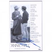 "Diane Keaton Annie Hall Autographed 12"" x 18"" Movie Poster - BAS"
