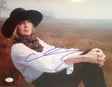 DIANE KEATON (ANNIE HALL/The Godfather) signed  11x14 JSA #N06186