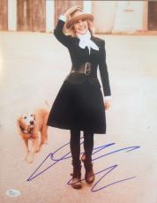 DIANE KEATON (ANNIE HALL/The Godfather) signed  11x14 JSA #N06187
