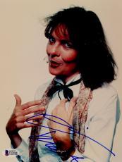 """Diane Keaton Autographed 8""""x 10"""" Annie Hall Studio Portrait White Shirt Photograph - BAS COA"""