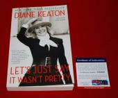 DIANE KEATON let's just say it wasn't pretty signed PSA/DNA book annie hall