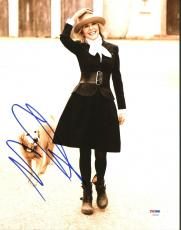 Diane Keaton Signed 11X14 Photo Autographed PSA/DNA #Z90294