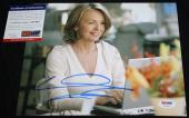 Diane Keaton signed 8 x 10, Annie Hall, Reds, First Wives Club, PSA/DNA