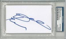 Diane Keaton Signed Authentic 3x5 Index Card Slabbed (PSA/DNA) #83055509