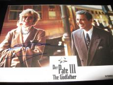 Diane Keaton Signed Autograph Lobby Card Godfather Promo In Person Pacino Coa H