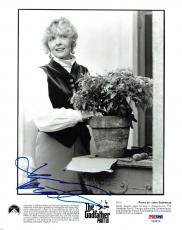 Diane Keaton Signed Godfather III Autographed 8x10 B/W Photo PSA/DNA #Y96879