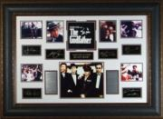 The Godfather unsigned 27x39 Photo Engraved Signature Series Custom Leather Framing w/ Al Pacino (movie/photo/entertainment)