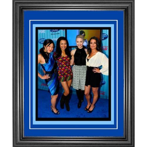 Dianna Agron, Jenna Ushkowitz, Naya Rivera and Lea Michele Framed Glee 8x10 Photo