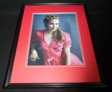 Dianna Agron Signed Framed 11x14 Photo Glee Quinn I Am Number Four