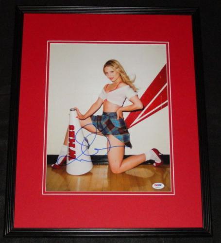 Dianna Agron Signed Framed 11x14 Photo PSA/DNA Glee Quinn