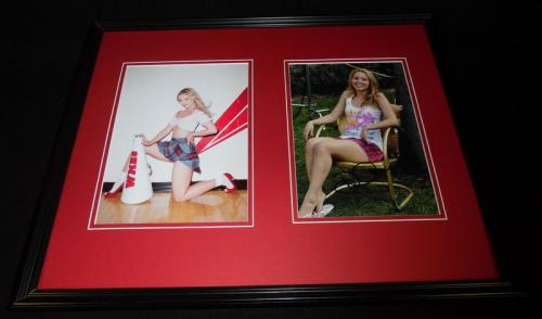 Dianna Agron Signed Framed 16x20 Photo Set Glee Quinn