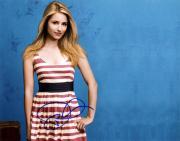 Dianna Agron Signed Glee Autographed 11x14 Photo RACC TS UACC RD AFTAL