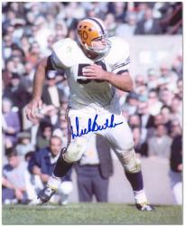 "Dick Butkus Illinois Fighting Illini Autographed 8"" x 10"" Photograph"