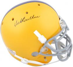 Dick Butkus Autographed Chicago Voc HS Helmet - Mounted Memories