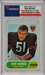 Dick Butkus Chicago Bears 1968 Topps #127 Card 1