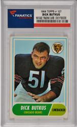 Dick Butkus Chicago Bears 1968 Topps #127 Card 2