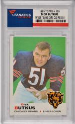 Dick Butkus Chicago Bears 1969 Topps #139 Card