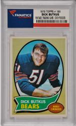 Dick Butkus Chicago Bears 1970 Topps #190 Card
