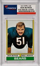 Dick Butkus Chicago Bears 1974 Topps #230 Card