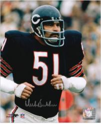 "Dick Butkus Chicago Bears Autographed 8"" x 10"" Jogging Photograph"