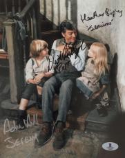 DICK VAN DYKE Adrian Hall Heather Ripley Signed Chitty Bang Bang Photo BAS COA L