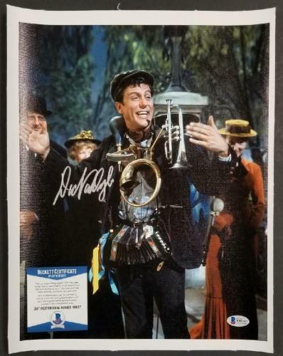 Dick Van Dyke autograph signed Mary Poppins 11x14 Canvas Photo #2 ~ BAS COA