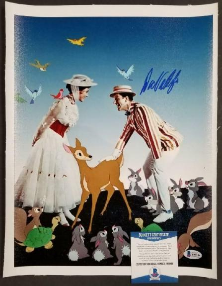 Dick Van Dyke autograph signed Mary Poppins 11x14 Canvas Photo #4 ~ BAS COA