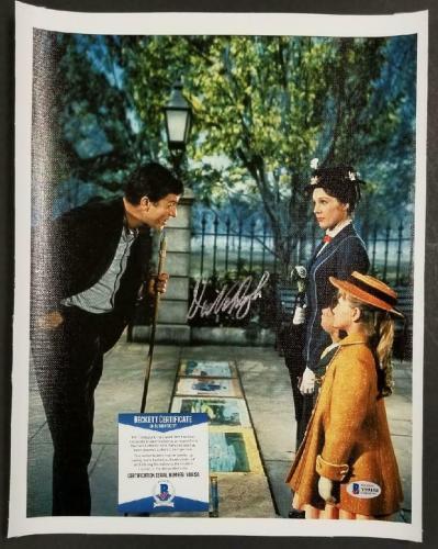 Dick Van Dyke autograph signed Mary Poppins 11x14 Canvas Photo #5 ~ BAS COA