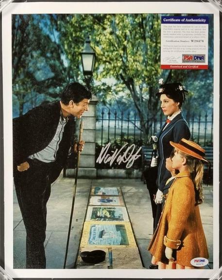 Dick Van Dyke autograph signed Mary Poppins 11x14 Canvas Photo #5 ~ PSA/DNA COA