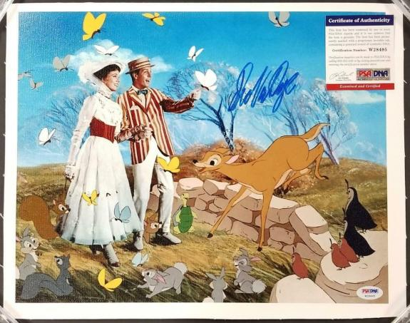 Dick Van Dyke autograph signed Mary Poppins 11x14 Canvas Photo #9 ~ PSA/DNA COA